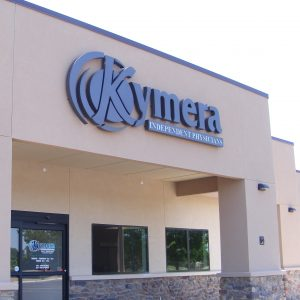 Main entrance to Kymera Roswell
