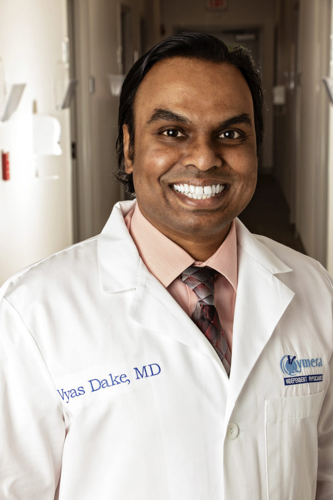 Dr. Vyas Dake, MD of Kymera Independent Physicians