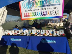Kymera Walk for Hope booth 2017