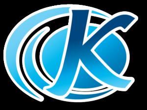 The blue K of the Kymera Logo