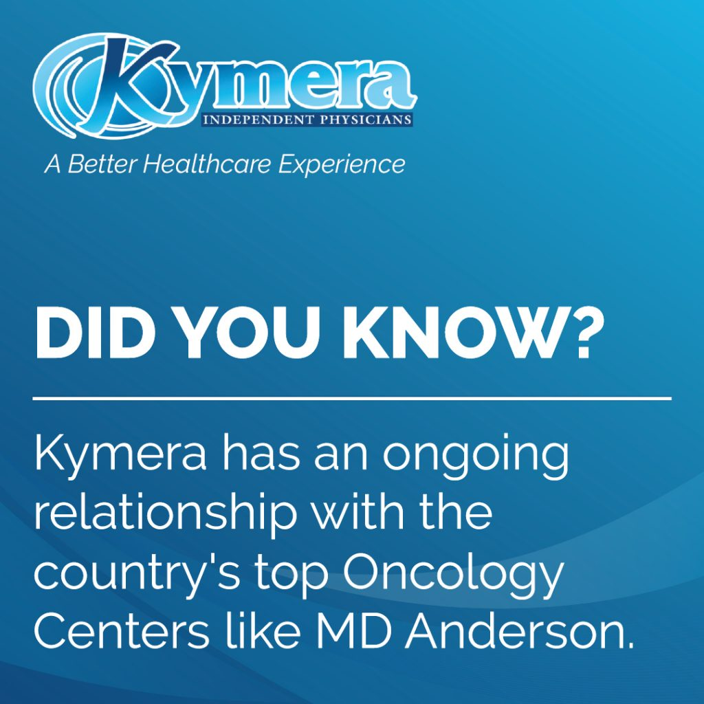 MD Anderson and Kymera maintain ties