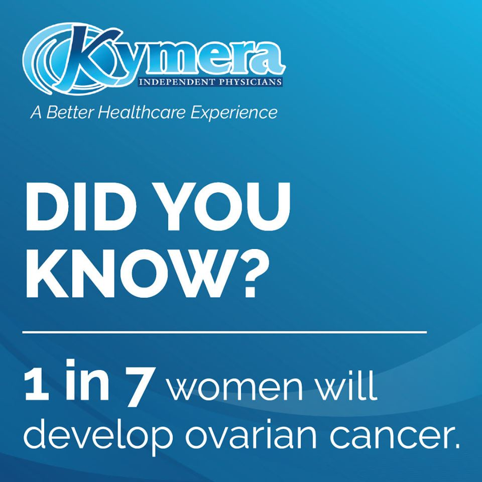 Did you know 1 in 7 womend will develop ovarian cancer