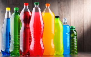 sugared drinks of all colors